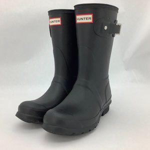 Hunter | Women's Rain Boots | Black | Short